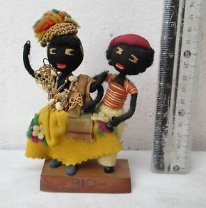Antique Handmade Afro-Brazilian Cloth Dolls