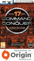 COMMAND & CONQUER THE ULTIMATE COLLECTION PC ORIGIN KEY