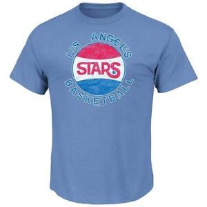 Too Cool! NWT Retro Los Angeles Stars Lakers ABA Basketball HWC Shirt Size M S58