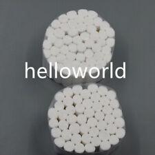2 Packs Dental Disposable Cotton Fibers Soft Absorbent Materials 100rolls Wadded