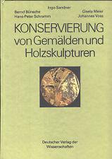 Sandner Bünsche Schramm Meier Voss, Konservierung Gemälde u Holz-Skulpturen, DDR