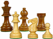 "Popular Staunton Sheesham Wood Chess Set Pieces 3"" Weighted 4Queens HouseofChess"