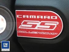 GM LICENSED, 2010 2011 2012 Camaro SS Dash Badge Plaque LS3 RED