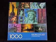 Springbok Magnificent Lady 1000 Pcs Puzzle Statue of Liberty World Trade Center