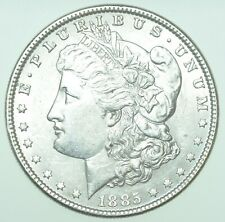 More details for usa, united states morgan dollar, $1, 1885 silver coin au