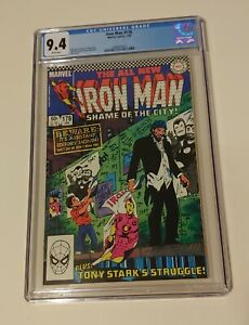 IRON MAN #178 CGC 9.4