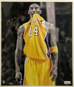 Kobe Bryant Autographed Photograph Limited 8 out  24  Rare  Panini Authentic