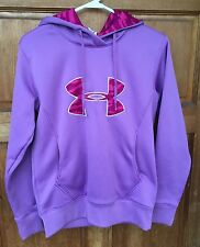 Under Armour Ladies Size S Cold Gear Lavender purple With Pink And Burgundy Camo