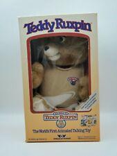 New ListingTeddy Ruxpin Vintage 1985 World Of Wonder Wow Bear New In Box Rare Mint