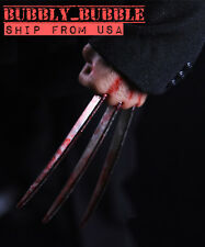 1/6 Wolverine Logan Metal Claw Hands Blood Effect Realistic Hair SHIP FROM USA