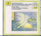 CD album: Rachmaninov: klavierkonzerte 1 & 3. Yuri Arhonovitch. DG. C2