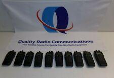 Lot of 10 Motorola TRBO XPR6550 403-470 MHz UHF Two Way Radios AAH55QDH9LA1AN