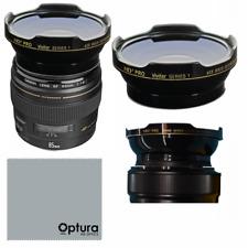 HD3 WIDE ANGLE LENS + MACRO LENS FOR Canon EF 85mm f/1.8 USM Lens
