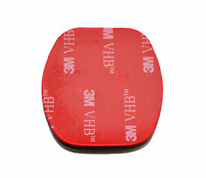 1x 3M VHB Rplacement Adhesive Sticker for GoPro Flat Surface Mount Hero 6 7 8 9