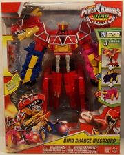 Power Rangers Dino Charge Megazord (3 Zords Combine) With Sword By Bandai MISB