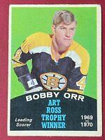 Bobby Orr 1970-71 O-Pee-Chee #249 Ross