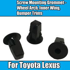 10x For Toyota Lexus Screw Mounting Grommet Wheel Arch Inner Wing Bumper Trims