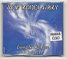 New Model Army Maxi-CD Living In The Rose The Ballads EP - 4-track - 659249 2