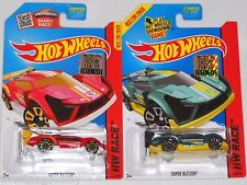 2015 HOT WHEELS RLC FACTORY SET RACE SUPER BLITZEN X2 BOTH COLORS