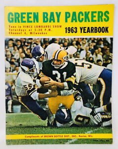 1963 Green Bay Packers Yearbook NFL Football Lombardi M21