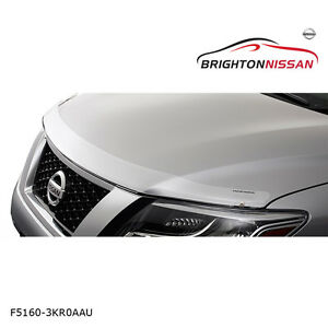 New Genuine Nissan Pathfinder R52 Bonnet Protector Clear F51603KR0AAU RRP $105