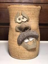 Studio Pottery Facial Expression Mug