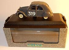 VITESSE CITROEN 2CV RALLYE MONTE CARLO 1954 N°319 GRISE 1/43 REF 524 IN BOX