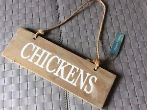 Garden Trading Chicken Sign