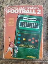 Mattel Electronics FOOTBALL 2 Handheld Game VINTAGE 1978 - Complete. Works Great