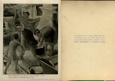 FUTURISMO SECONDA QUADRIENNALE D'ARTE FOTO GIACOMELLI - CARBONI 1935 GIARRIZZO