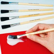 Pennello Hog Setola spazzole Incolla Confezione da 10