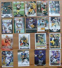 Greg Jennings - 18 card lot - Topps, Gridiron Gear, Prime, Prestige, plus more