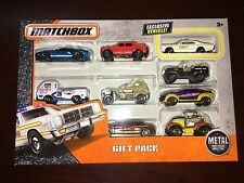 Matchbox Gift Pack w/ Illinois State Police Dodge Monaco, Willys Jeep Dodge A100