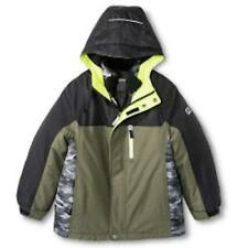 R-WAY by ZEROXPOSUR BOY'S 3-IN-1 SYSTEM JACKET COAT - SMALL (5-6)- LODEN (GREEN)