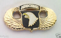 101ST AIRBORNE DIVISION WINGS (SMALL GOLD) Military US ARMY Hat Pin P12768 EE