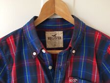 hollister Check Shirt Size Large. Red Blue And Black.