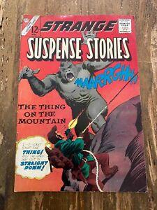 Strange Suspense Stories #74 Charlton Comics 1965 The Thing on the Mountain Q