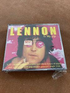 In My Life Box Set Beatles John Lennon (CD, Jan-1999, 3 CDs) NEW (Import)
