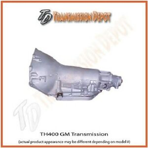 Turbo 400 Chevy Transmission Stock Replacement  Short  Tail 4""