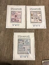 The Drawn Thread,Sampler Of Stitches ABC, DEF, And GHI
