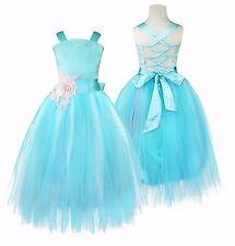 Mädchen Kind Abendkleid Kleid Brautjungfer Prinzessin Hochzeit Festkleid Formal