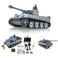 Rauch + Sound + Schuss RC Panzer German Tiger Heng Long 1:16 Kampfpanzer Fernges