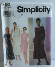 Simplicity 8400 Sewing Pattern Dress Sizes 12-16