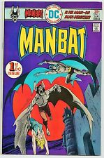 MAN-BAT #1 (DC COMICS 1975-76) VF+ (FEATURES BATMAN!) STEVE DITKO ART! 8.5
