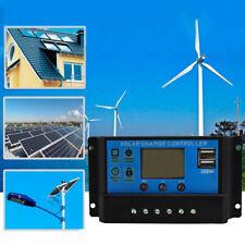 30A PMW Pannello Solare Regolatore di Carica 12V/24V Auto Controllore
