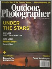 Outdoor Photographer November 2016 Under The Stars/Developing RAW Workflow