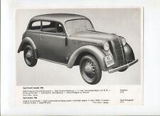 N°9134 / photo Opel Kadett 1936