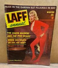 1957 Winter LAFF ANNUAL Magazine JAYNE MANSFIELD On Cover (A17)