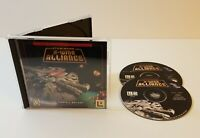 Star Wars: X-Wing Alliance PC CD-Rom 1999 windows space combat simulation game