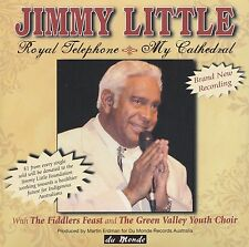 [BRAND NEW] CD SINGLE: JIMMY LITTLE: ROYAL TELEPHONE / MY CATHEDRAL